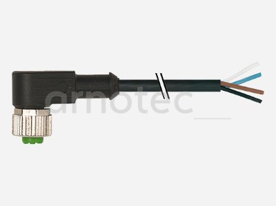 Sensorkabel M12 Bu. gew. mit freiem Leitungsende 4pol. 10m